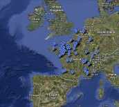 carte des sites
