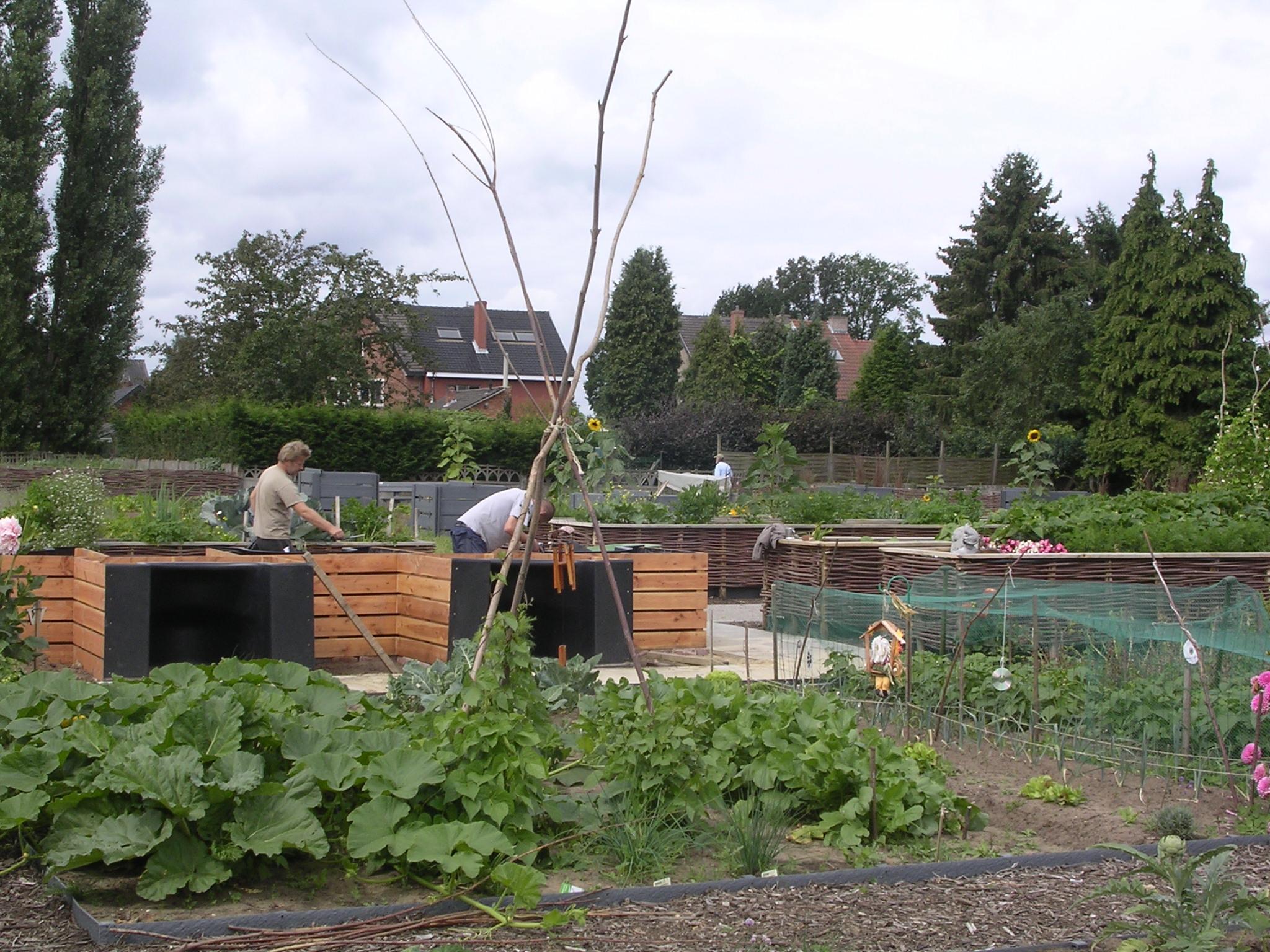 Jardin des familles zonhoven belgique terraform for Jardin belgique