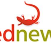 logo red newt