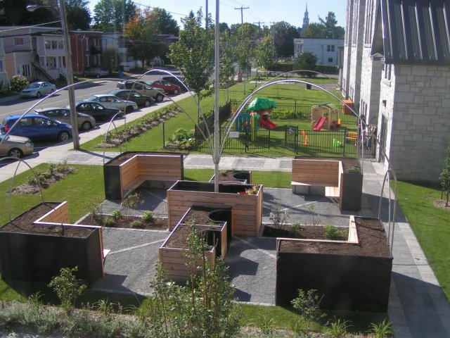 Un Jardin Collectif Adapte A Granby Quebec Terraform